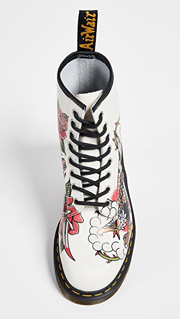 Dr. Martens Tattoo USA 1460 8 Eye Boots