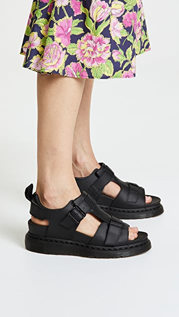Dr. Martens Kamilah Adjustable 2 Strap Sandals