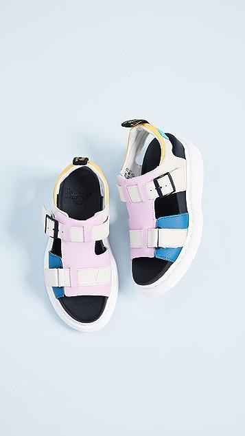 Dr. Martens Kamilah Adjustable 2 Strap Sandals