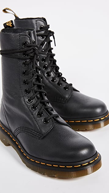 Dr. Martens ORIGINALS 1490 10 EYE BOOT - Lace-up boots - black