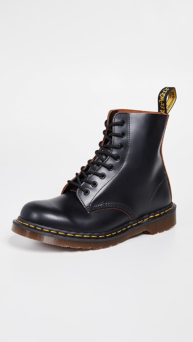 cabd02e677a93 Dr. Martens Made in England Vintage 1460 8 Eye Boot | EAST DANE