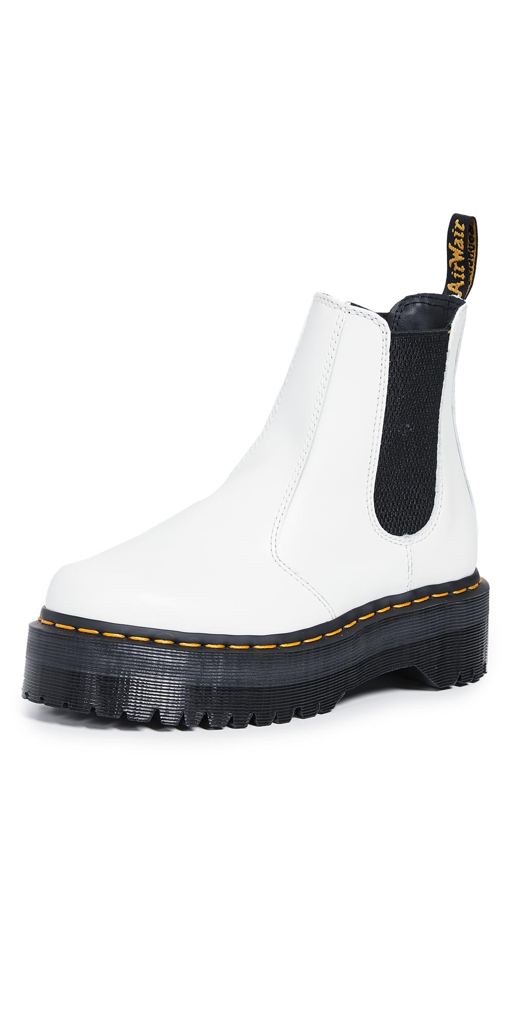 white doc martin boots