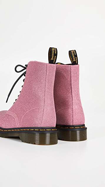 Dr. Martens Блестящие ботинки 1460 Pascal с восемью люверсами