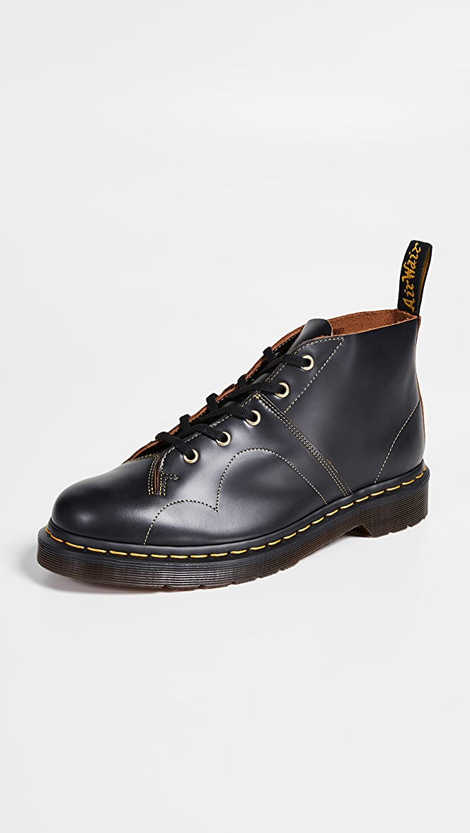 details for the cheapest huge discount Dr. Martens Church Vintage Smooth Boots | EASTDANE SAVE UP ...