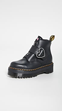 Lazy Oaf Buckle Boots