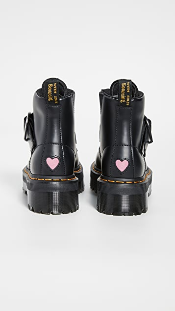 Dr. Martens Lazy Oaf Buckle Boots
