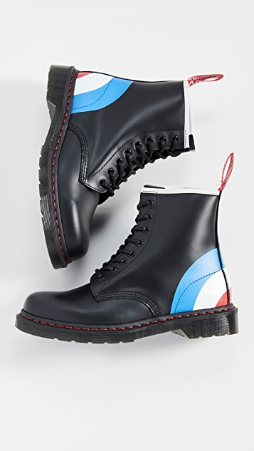 Dr. Martens x The Who 1460 8 Eye Boots