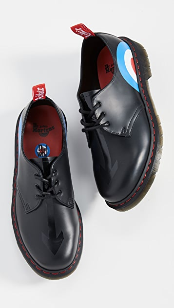 Dr. Martens x The Who 1461 3 Eye Lace Ups