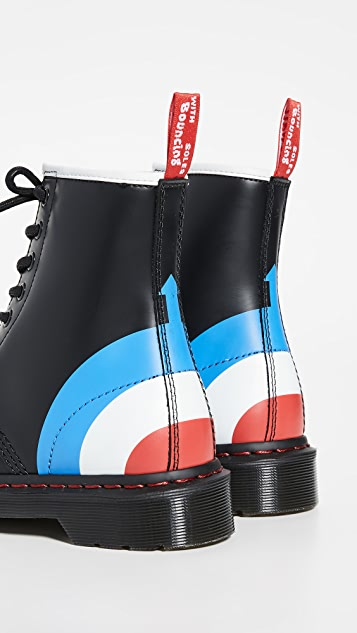 Dr. Martens x The Who 1460 光滑靴子