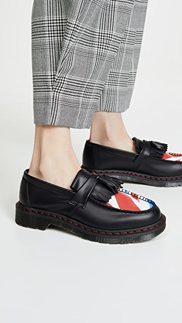 Dr. Martens x The Who Adrian 光滑乐福鞋