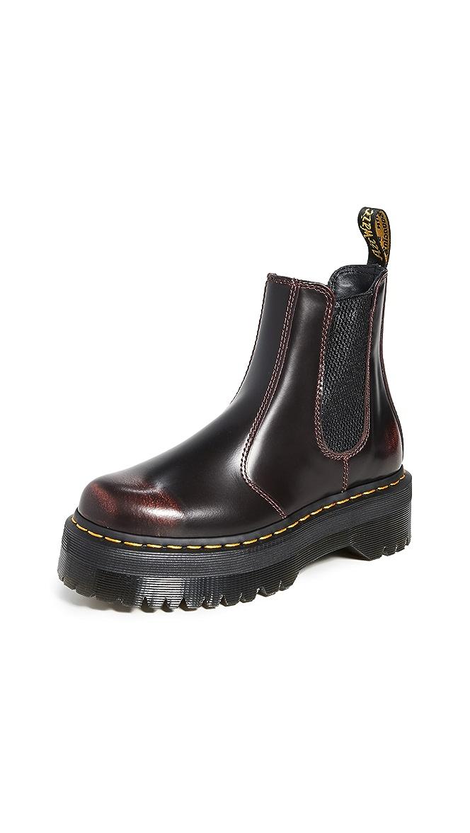 dr martens quad chelsea boot