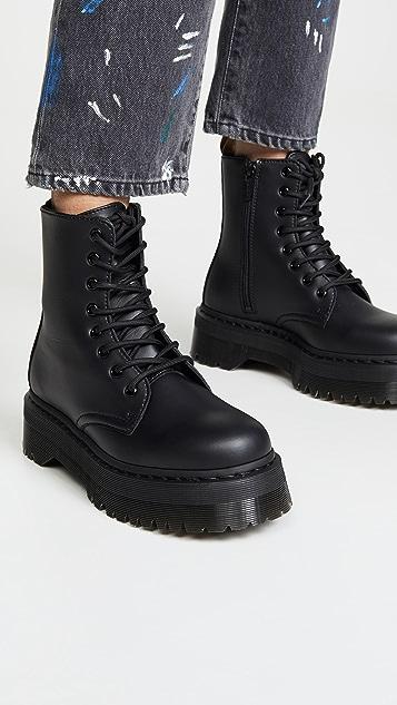 Dr. Martens Vegan Jadon II Mono 8 孔靴子