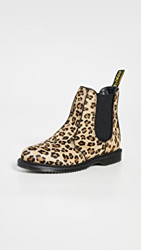Flora Hair On Chelsea Boots