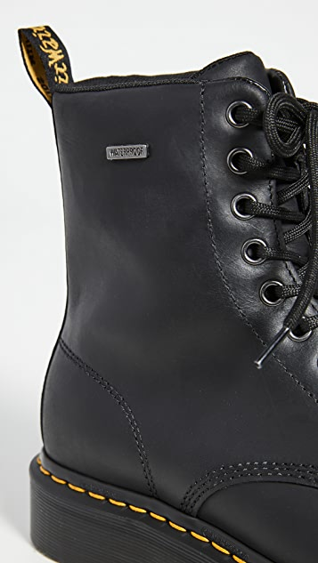 Dr. Martens 1460 W Waterproof 8 Eye Boots