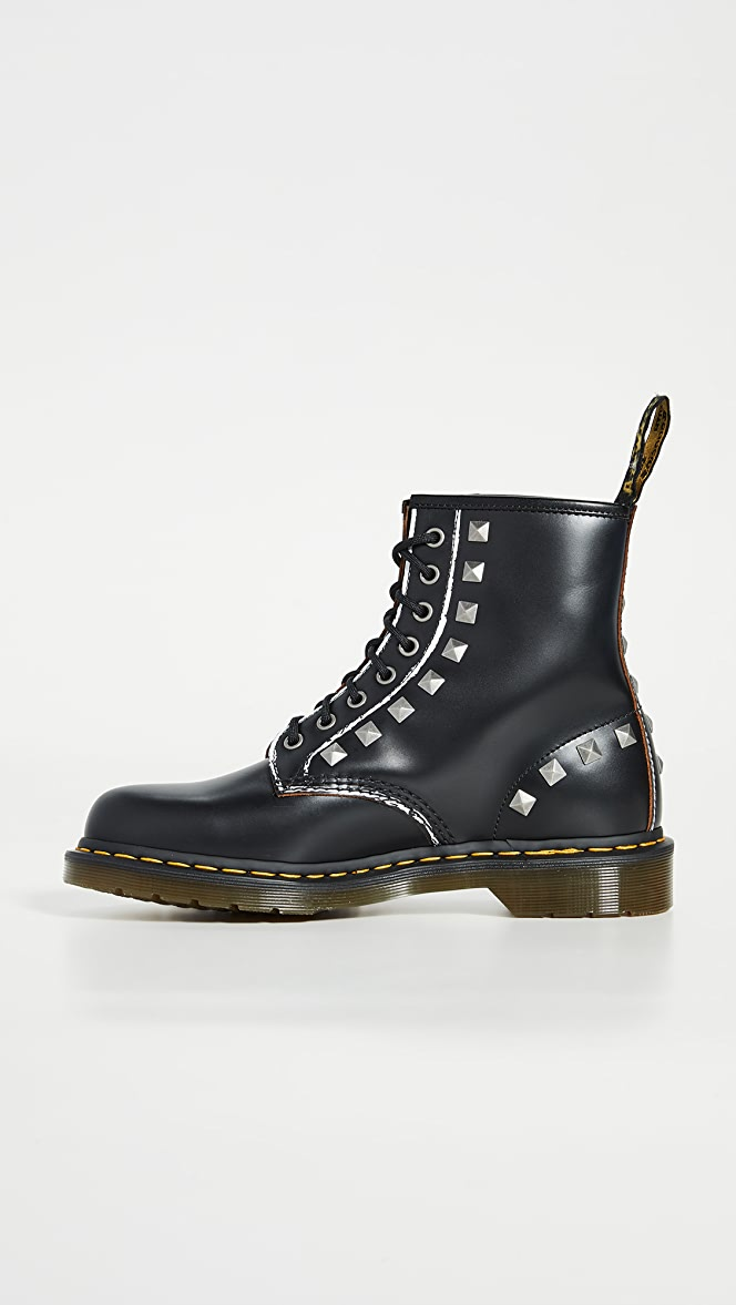 Dr. Martens 1460 Stud 8 Eye Boots | EAST DANE