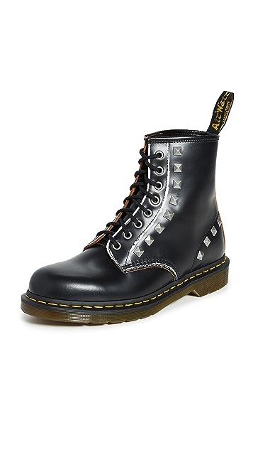 Dr. Martens 1460 Stud 8 Eye Boots