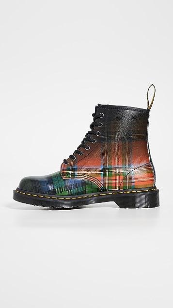 Dr. Martens 1460 Tartan 8 Eye Boots