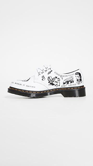 Dr. Martens 1461 Scribble 3 Eye Shoes