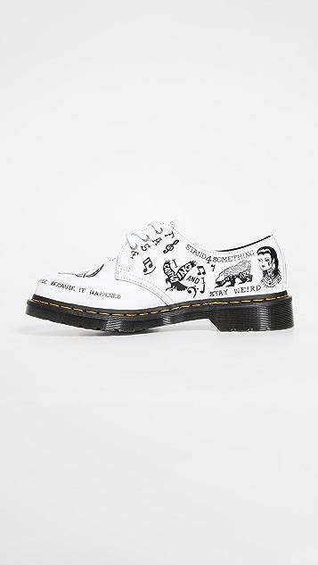 Dr. Martens 1461 Scribble 3 Eye Shoes