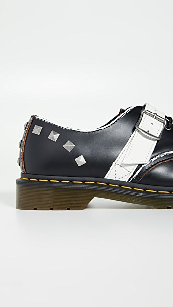 Dr. Martens Zambello Stud 3 Eye Shoes