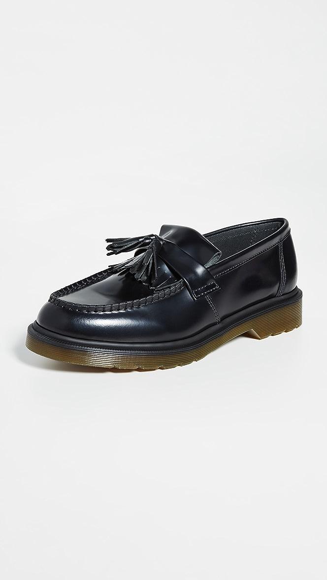 dr martens adrian tassel loafers womens