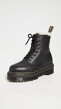 Jadon FL 8 Eye Boots