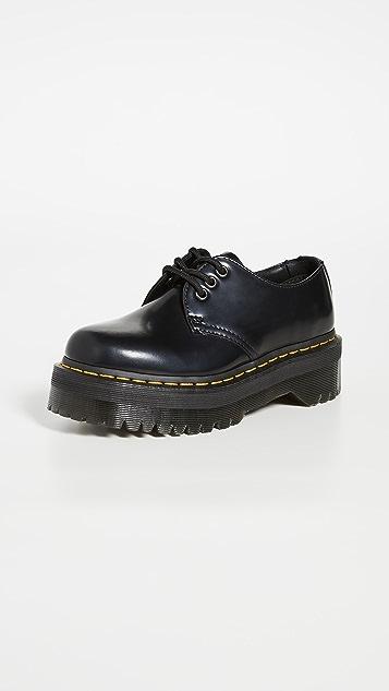 1461 Quad Lace Up Shoes by Dr. Martens