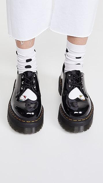 Dr. Martens 1461 Quad Hello Kitty 3 Eye Shoes