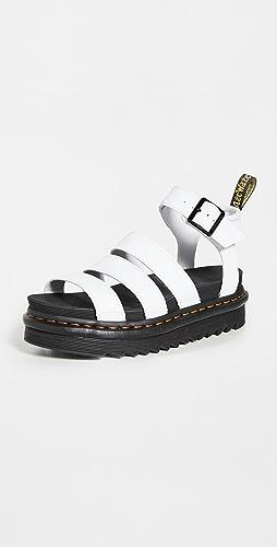 Dr. Martens - Blaire Chunky 3 固定带凉鞋