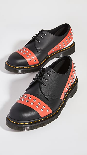 Dr. Martens 1461 Stud 3 Eye Shoes
