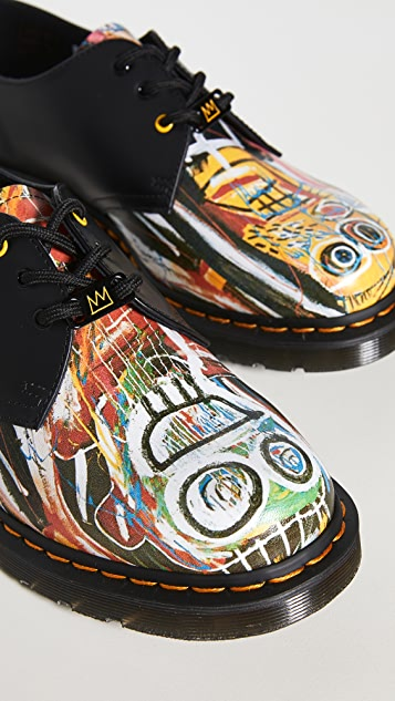 Dr. Martens x Basquiat 1461 3 Eye Derby Shoes