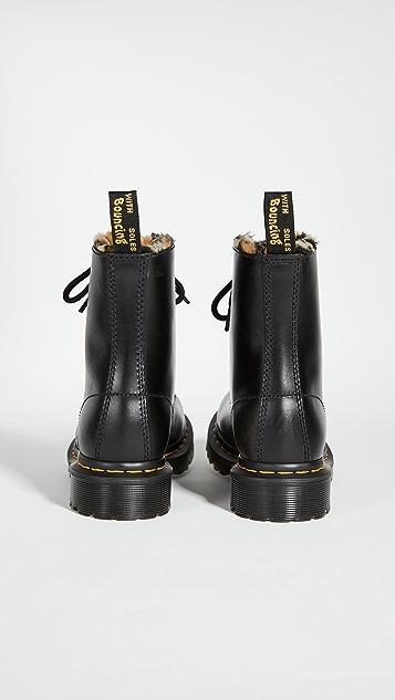 Dr. Martens 1460 Serena Fluff 8 Eye Boots