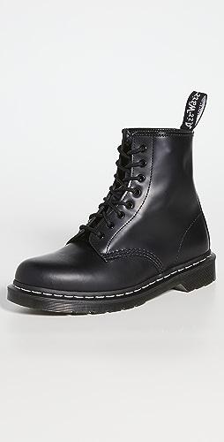 Dr. Martens - 1460 8-Eye White Stitch Boots