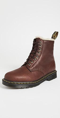 Dr. Martens - 1460 8-Eye Ambassador Faux Fur Lined Boots