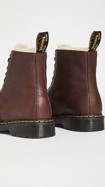 Dr. Martens 1460 8-Eye Ambassador Faux Fur Lined Boots