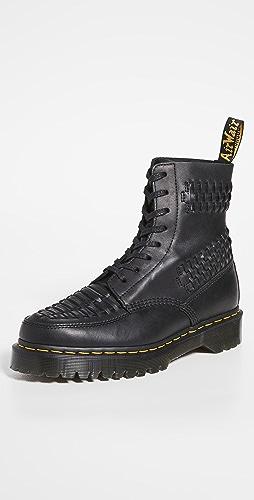 Dr. Martens - 1460 8-Eye Pascal Bex Woven Boots
