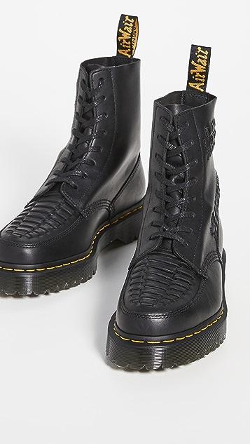 Dr. Martens 1460 8-Eye Pascal Bex Woven Boots