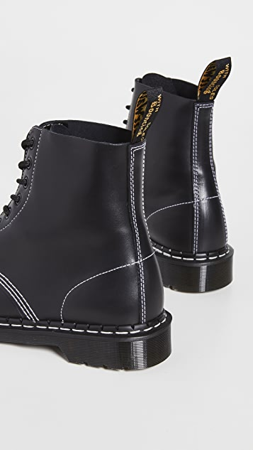 Dr. Martens Made In England 1460 Pascal Horween Cavalier Boots