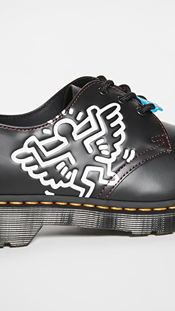 Dr. Martens 1461 3-Eye Keith Haring Oxford Shoes