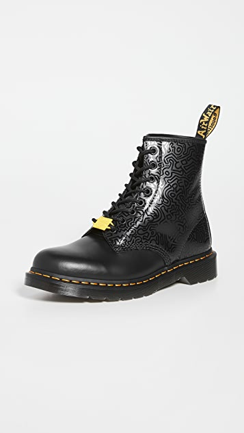Dr. Martens 1460 8-Eye Keith Haring Boots