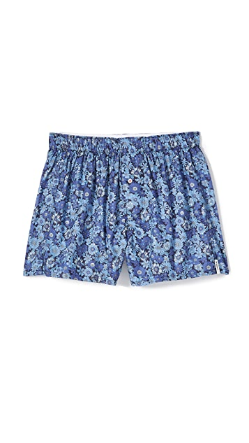 Druthers Mixed Floral Boxers