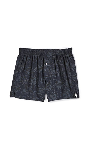 Druthers Tonal Floral Boxers