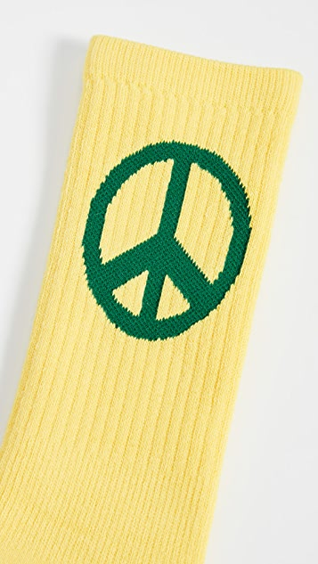 Druthers Peace Crew Socks