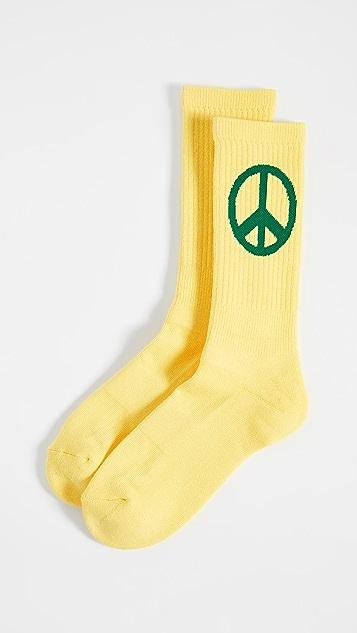 Druthers Peace Crew Socks