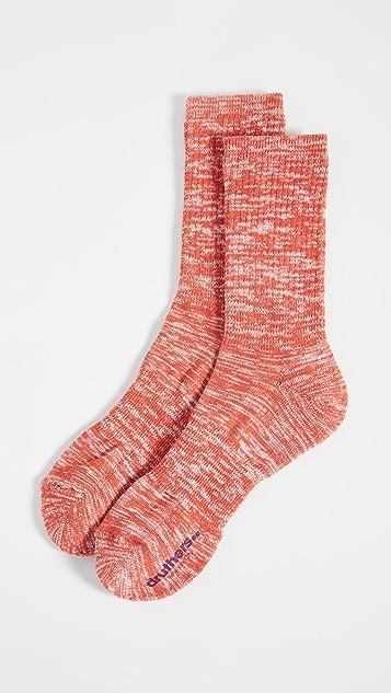 Druthers Everyday Melange Crew Socks