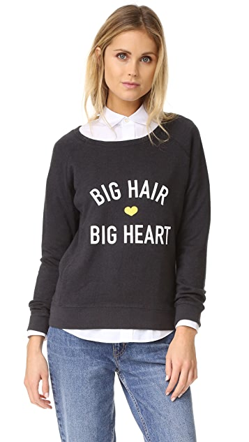 Drybar Big Hair Big Heart Raglan Pullover