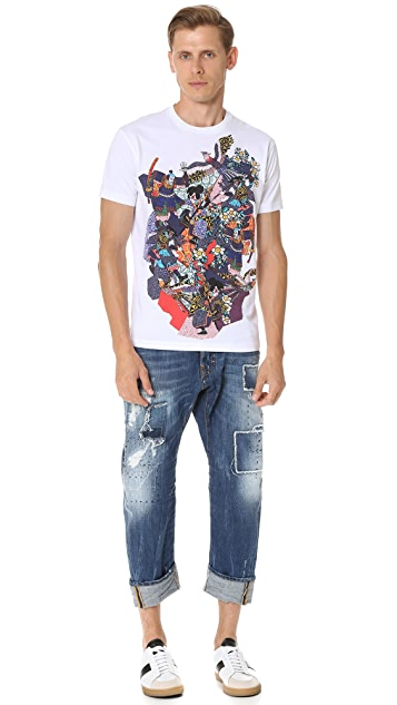 DSQUARED2 Warm Samurai Tee
