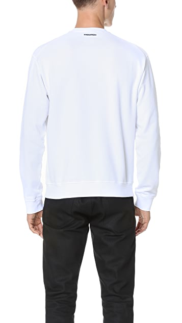 DSQUARED2 Warm Samurai Sweatshirt
