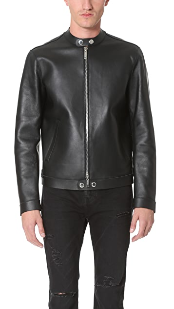 DSQUARED2 Leather Biker Jacket