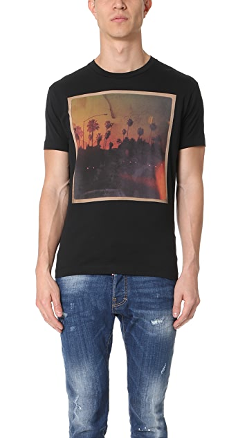 DSQUARED2 Palm Tree Road Trip Tee